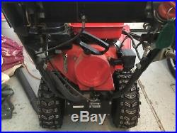 Honda HS928 Snow Blower with Hydrostatic Drive-pull start engine