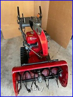 Honda HS928 Tracked Snow Blower 28 inches Wide Great Condition