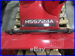 Honda HSS724AT Two Stage Snow Blower Track Drive 1500lb/min 198cc