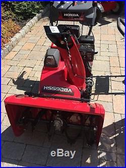 Honda HSS928A Snow Blower