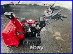 Honda HSS 724A snowblower DEMO