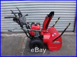 Honda Hydrostatic Snowblower Model HS626 6hp 24 inches WIDE RUNS FINE