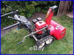 Honda Hydrostatic Track Snowblower Model HS624,6hp 24 inches WIDE. RUNS GREAT