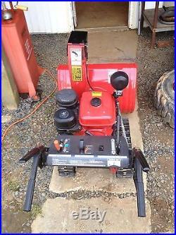 Honda Hydrostatic Track Snowblower Model HS828K1TA