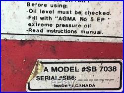 Honda Lawn Mower snowblower attachment, SB 7038