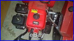 Honda Snow Thrower Track Drive HS622 24 Wide Two Stage Blower, Recoil Start