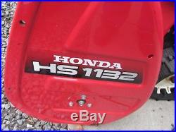 Honda Snowblower 1132 Hydro Drive Track Model