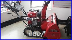 Honda Snowblower HS928TA Free Shipping and Cover