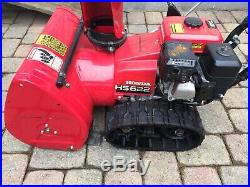 Honda hs622 track drive snowblower