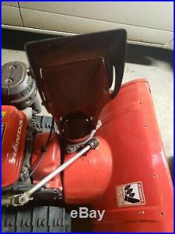 Honda hs828 tracked snowblower