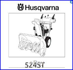 Husqvarna 2 Stage Snow Blower ST524