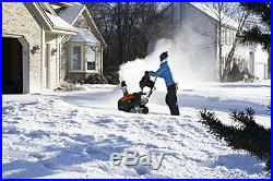 Husqvarna 961830003 208cc Single Stage Electric Start Snow Thrower, 21-Inch