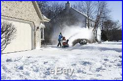 Husqvarna 961830003 208cc Single Stage Electric Start Snow Thrower 21-Inch