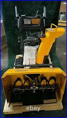 Husqvarna Parton 2-stage Snow Blower 27 Width Electric Start Gas Power Engine