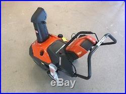 Husqvarna ST151 Single Stage Snow Blower 21 208 cc Electric Start