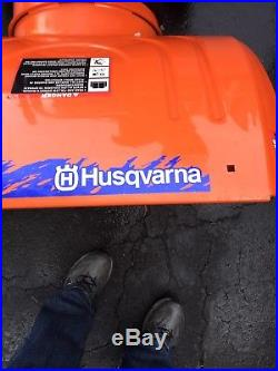 Husqvarna Snowblower 24 In Cut, Great Shape No Rust, Electric Start