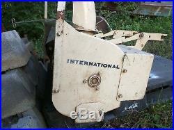 International 42 Inch tractor mounted Snowblower