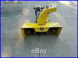 John Deere 38 Inch Snowblower For LX And Gt Tractors Johndeere Snowthrower