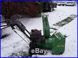 JOHN DEERE SNOW BLOWER TRX26 TRACK DRIVE SNOWBLOWER