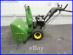 John Deere- 10 HP 32 inches Wide Two Snow Blower- TRS 32