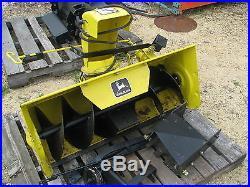 John Deere 338 Snowthrower 112L 111 108 116 Tractor