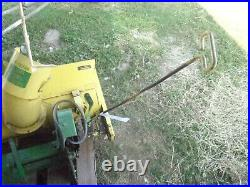 John Deere 37 Snow Thrower Snowblower E0680 See Desc. 112 212 214 216 Brass Tag