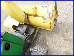 John Deere 400 420 430 Snowblower Snowthrower
