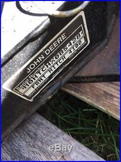 John Deere 4100 Model 47 Snow Blower