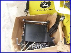 John Deere 44 SnowBlower snowthrower snow thrower blower 44 auger chute skid