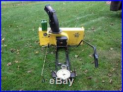 John Deere 44 inch mounted snow blower