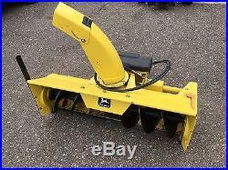 John Deere 46 SnowThrower (Snow blower) Perfect Shape! (425,445,455)