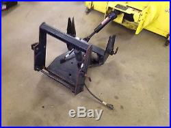 John Deere 47 2 stage snow blower attachment With Quick Hitch 4 JD 420 Or 430