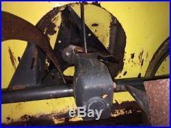 John Deere 47 Snow Blower (shaft drive)