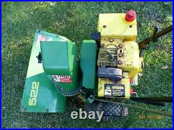 John Deere 522 Snow Blower Well Maintained, Works Great