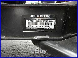 John Deere 54 Two stage Snowblower
