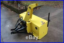 John Deere 59 Snow Blower for 855 955 Compact Tractor