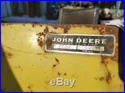 John Deere 60 70 Lawn & Garden Tractor Snow Blade Snow plow