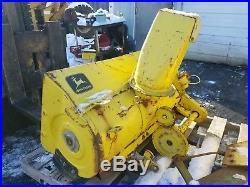 John Deere 60 70 Lawn & Garden Tractor Snowblower Blower Snow Thrower