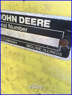 John Deere 755 2 Stage 47 Snow Blower