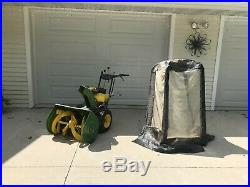 John Deere 826 Snow Blower Used- Cab Included Cash payment only