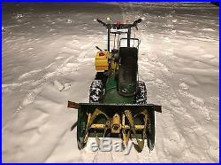 John Deere 826 Snowblower Snow Blower