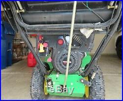 John Deere 924DE snowblower snow blower