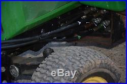 John Deere Garden Tractor 425 with Cab, Mower, 2 Stage Snow Blower