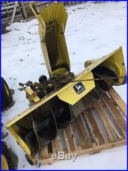 John Deere Model 49 Snow Blower