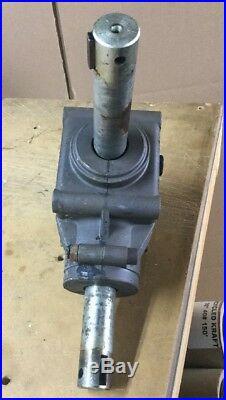 John Deere Quick Hitch 46 Snowthrower Gear Box AM108763 Deer Snowblower 425 445