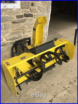 John Deere X728 X738 X748 4WD Garden Tractor 54 Wide 2 Stage Snowblower & Hitch