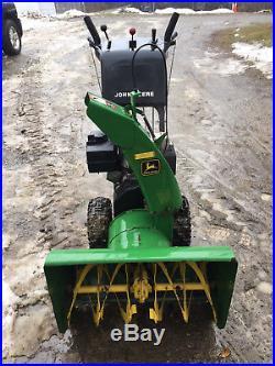 John Deere snowblower TRS26