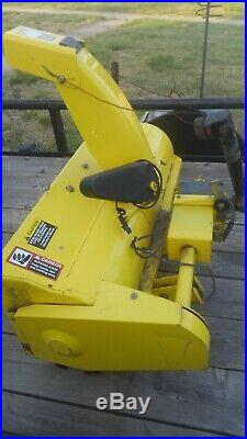 John deere 46 snowthrower F710 F725 F735
