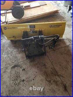 John deere x738, 4x4, snow blower, 54 front blade, 54 deck