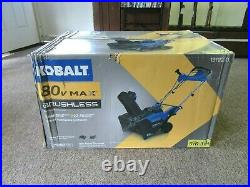 Kobalt 80V Max 22 Single-Stage Cordless Snow Blower KSB-6080-06